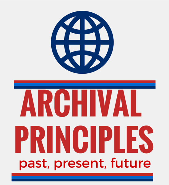 archival principles graphic