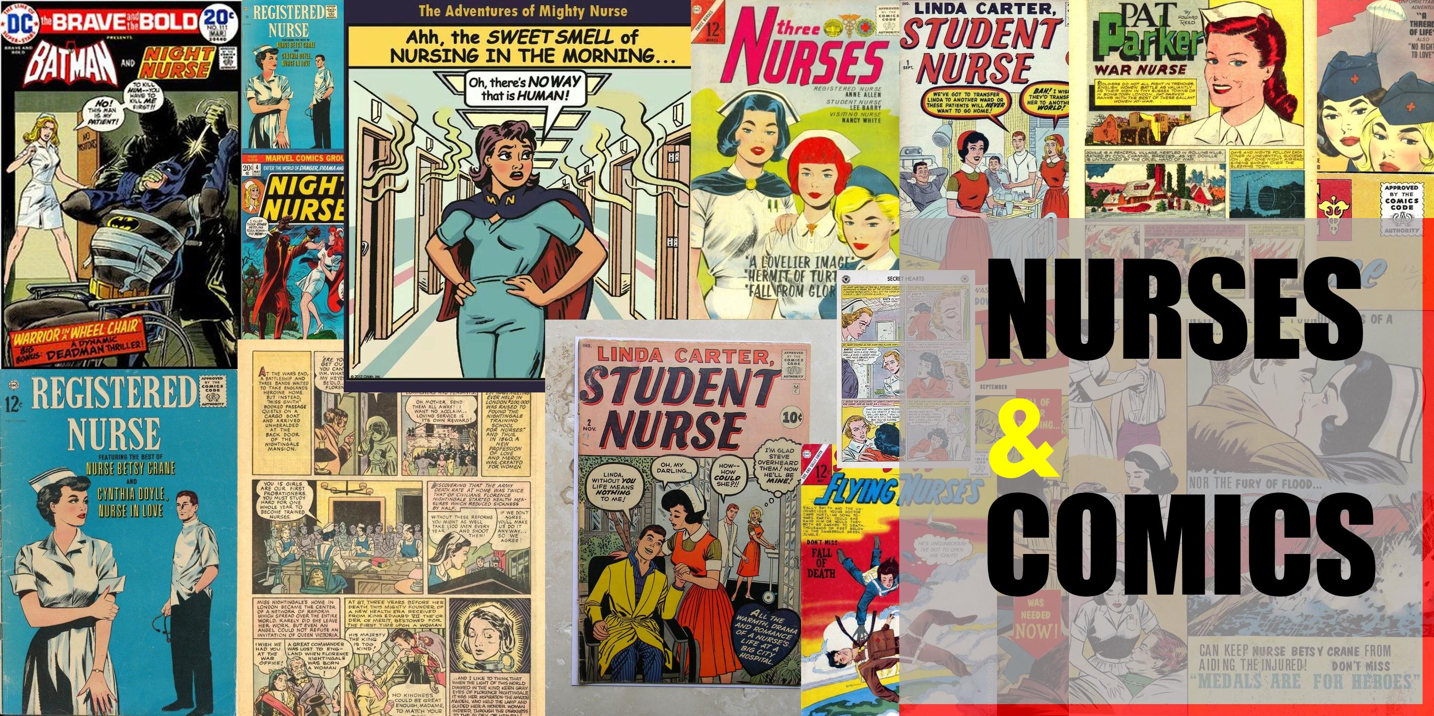 Nurses and Comics Featured Image