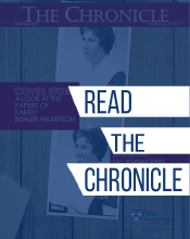 Published semi-annually, The Chronicle highlights activities and scholarship of the Barbara Bates Center for the Study of the History of Nursing, which is the home of the Echoes and Evidence blog.