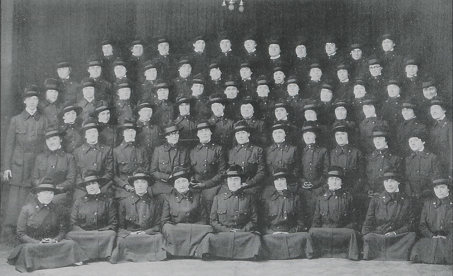 Nurses and Civilian Employees - 1918